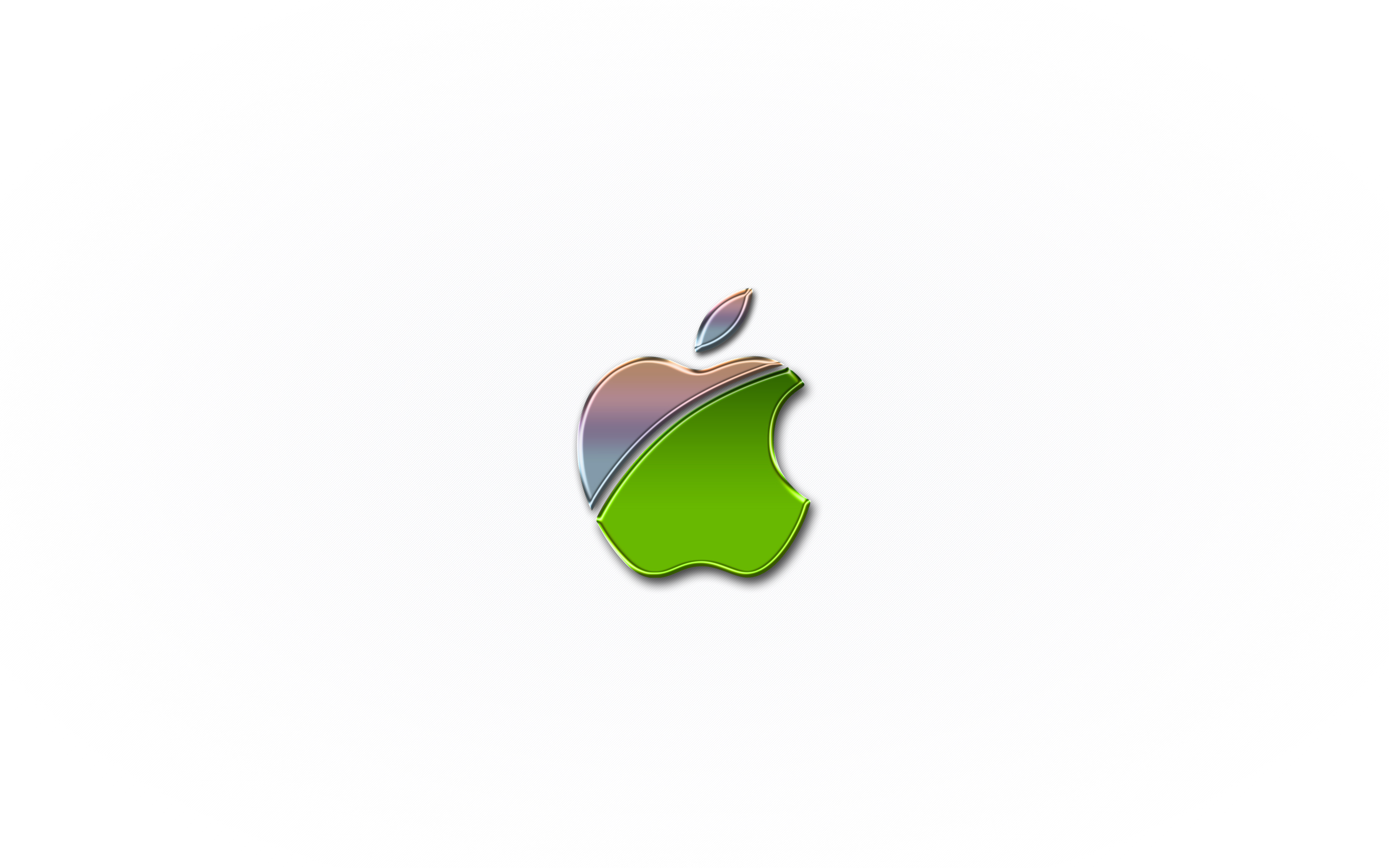 iPhone iPad MacBook Air MacBook Pro iMac Apple Logo Wallpaper 壁紙 メタルグリーン