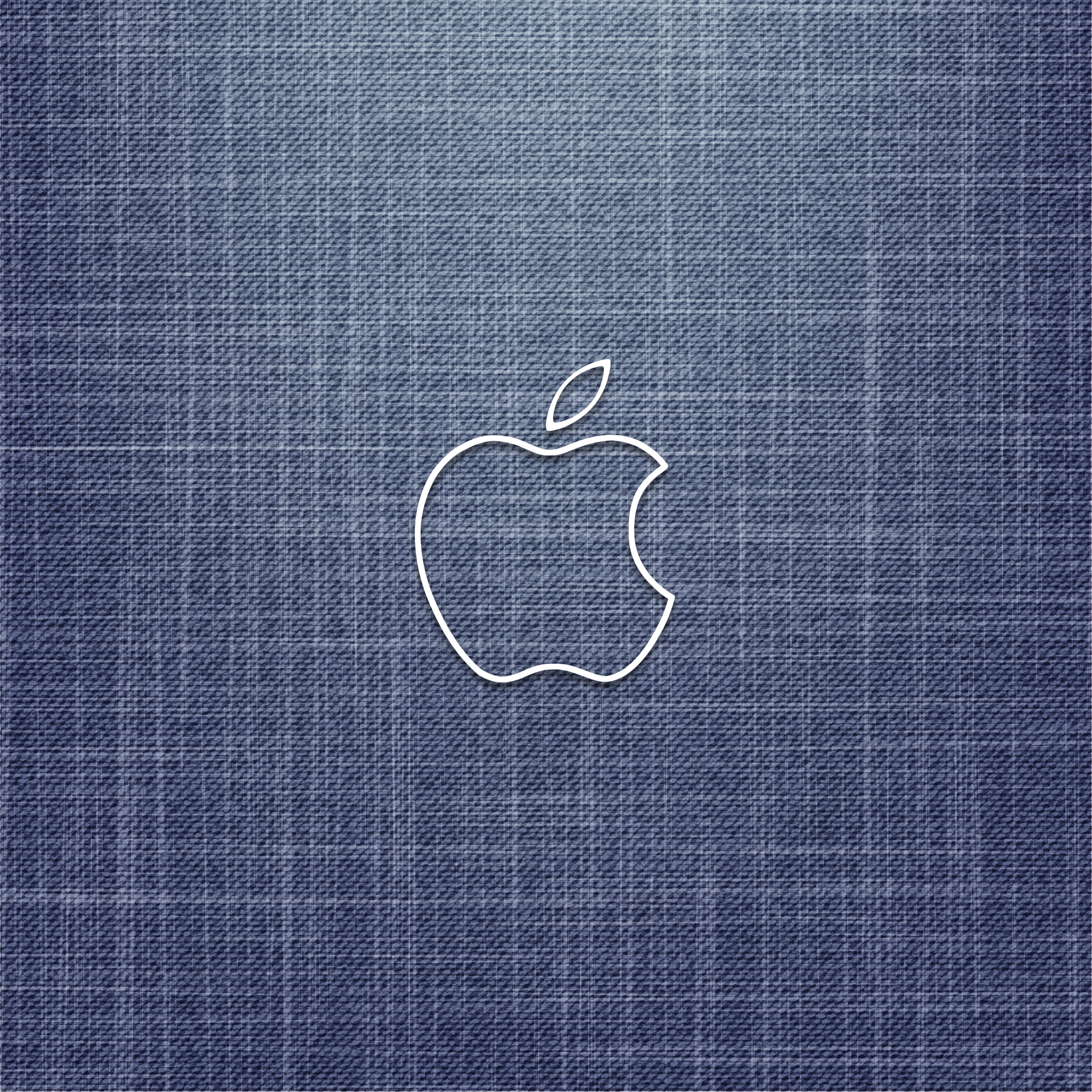 iPhone iPad MacBook Air MacBook Pro iMac Apple Logo Wallpaper デニム