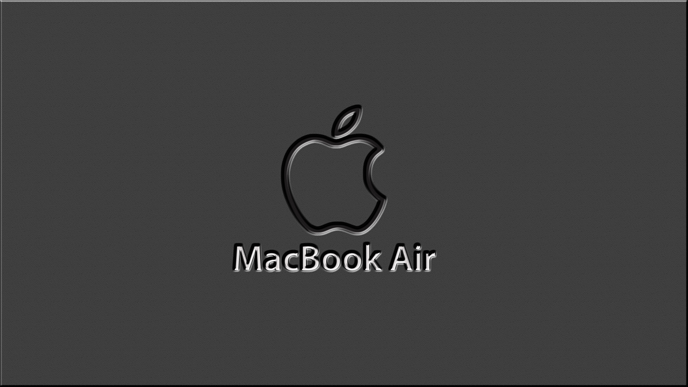 iPhone iPad MacBook Air MacBook Pro iMac Apple Logo Wallpaper The Color Grey (グレー)