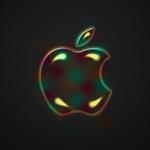 Apple Logo Wallpaper _ Bubble