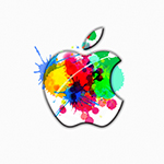 Apple Logo Wallpaper _ Splash (スプラッシュ)