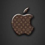 Apple Logo Wallpaper _ Louis Vuitton _ Monogram