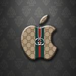 Apple Logo Wallpaper – Gucci
